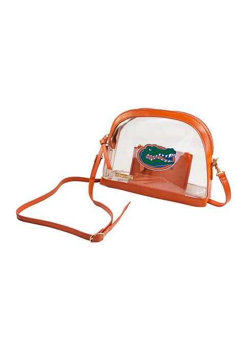 Capri Designs NCAA Florida Gators Half Moon Crossbody