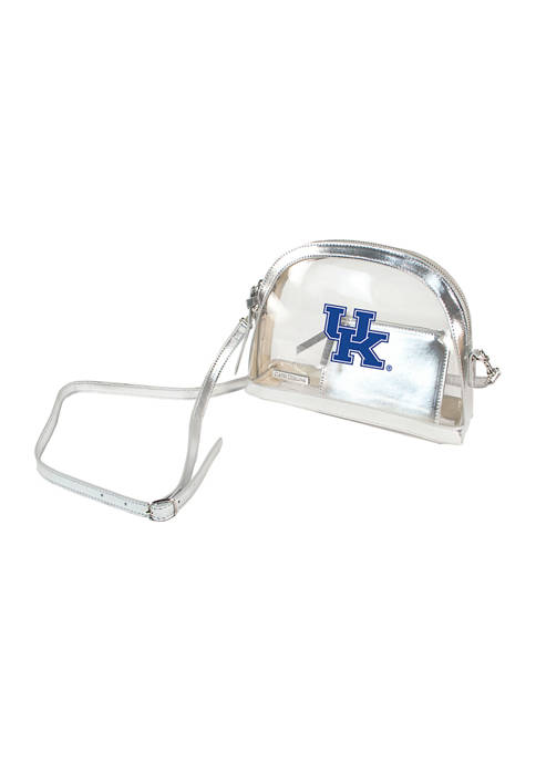 NCAA Kentucky Wildcats Half Moon Crossbody