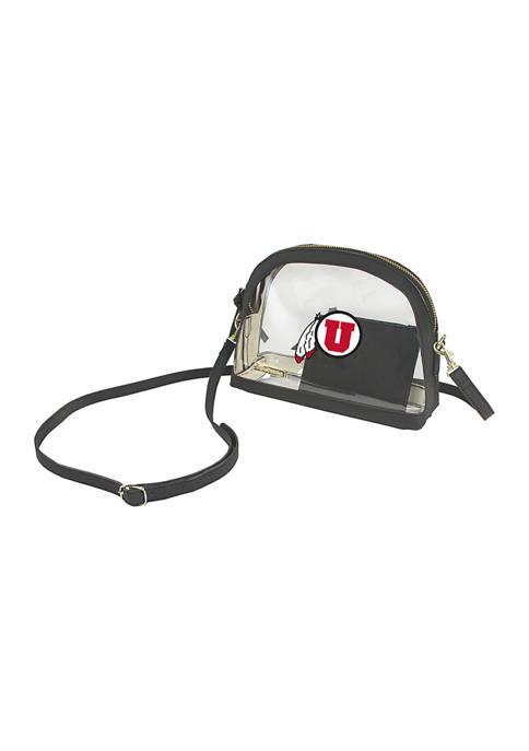 NCAA Utah Utes Half Moon Crossbody