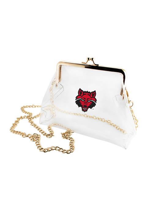 Capri Designs NCAA Arkansas State Red Wolves Kiss