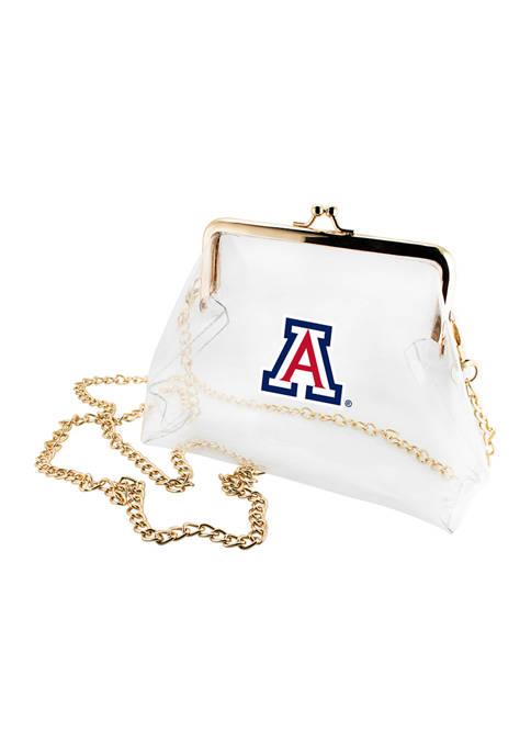 NCAA University of Arizona Wildcats Kiss Lock Crossbody