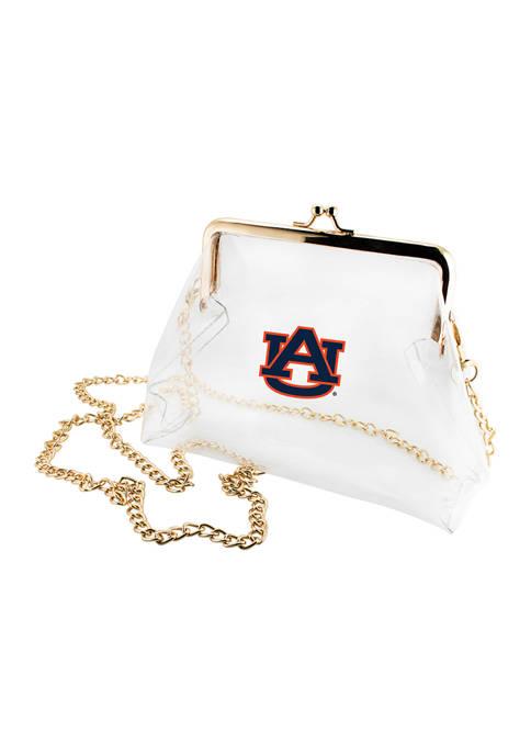 NCAA Auburn Tigers Kiss Lock Crossbody