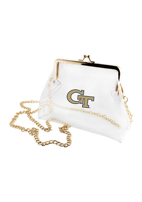Capri Designs NCAA Georgia Tech Yellow Jackets Kiss