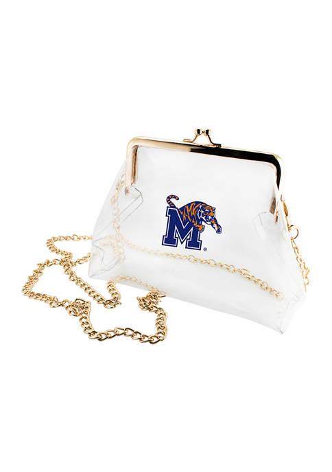 NCAA Memphis Tigers Kiss Lock Crossbody