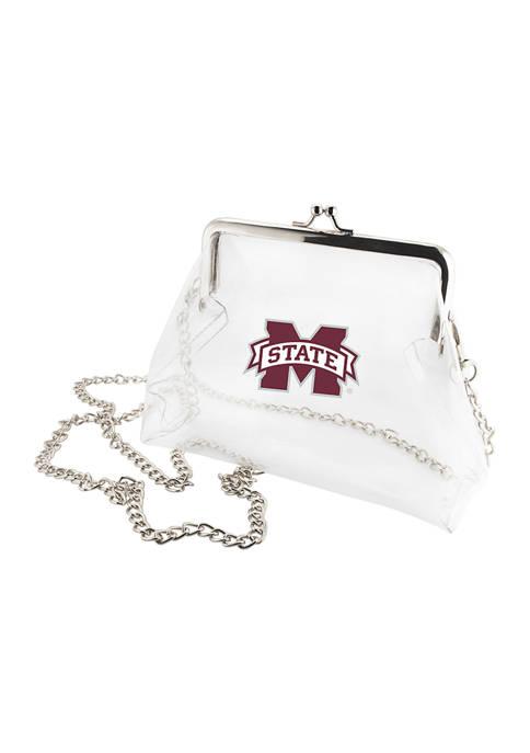 NCAA Mississippi State Bulldogs Kiss Lock Crossbody