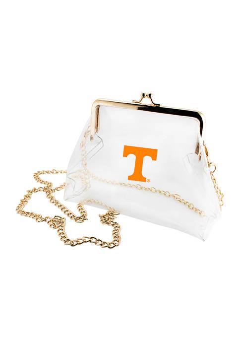 NCAA Tennessee Volunteers Kiss Lock Crossbody