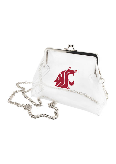 NCAA Washington State Cougars Kiss Lock Crossbody