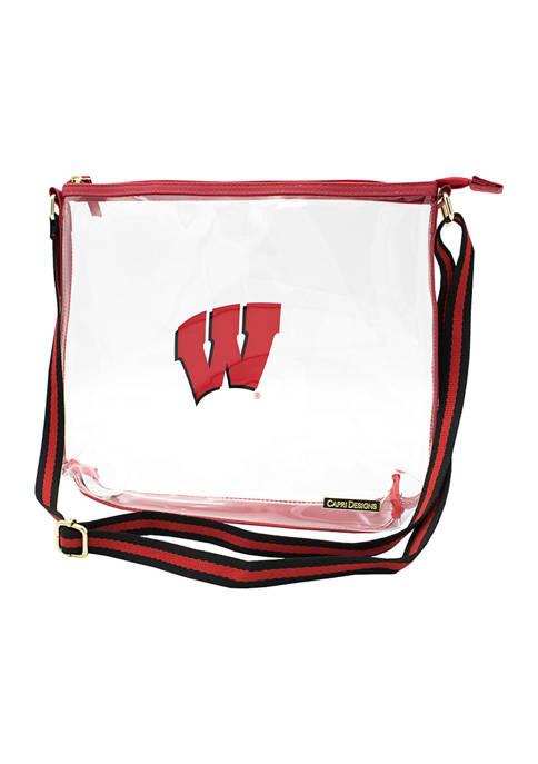 NCAA University of Wisconsin Simple Tote