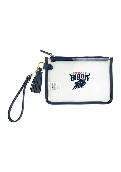 Capri Designs NCAA Howard Bison Wristlet