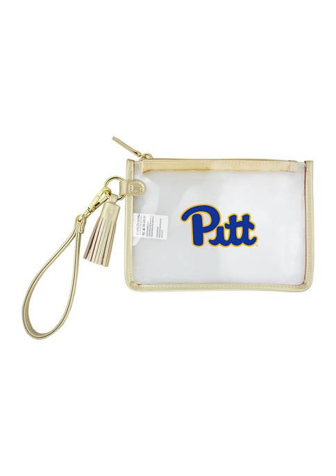 Capri Designs NCAA Pitt Panthers Wristlet