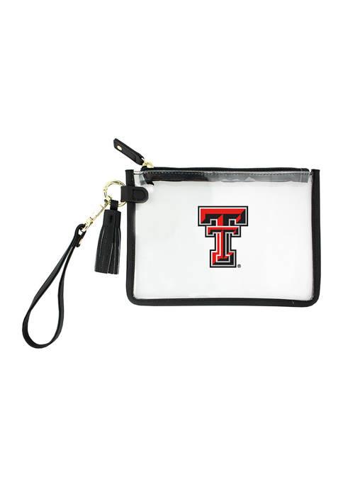 NCAA Texas Tech University Wristlet