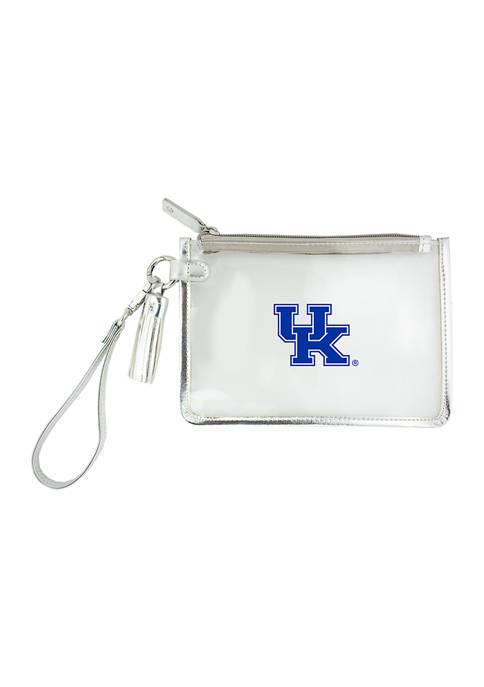Capri Designs NCAA University of Kentucky Wristlet