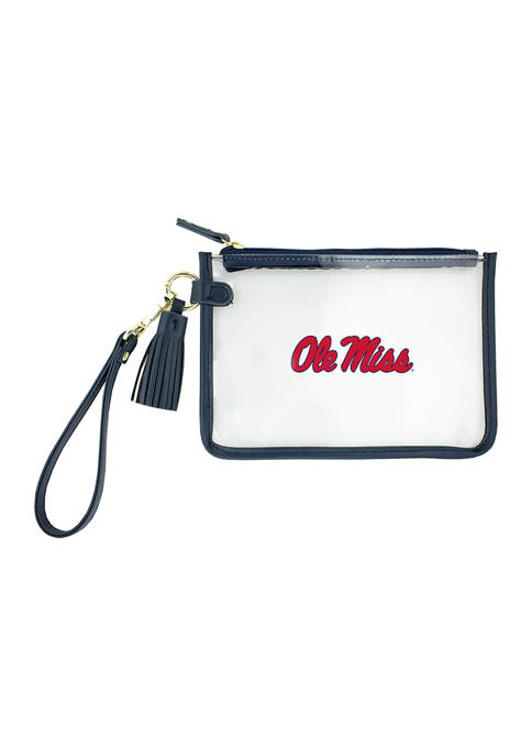 Capri Designs NCAA University of Mississippi Wristlet