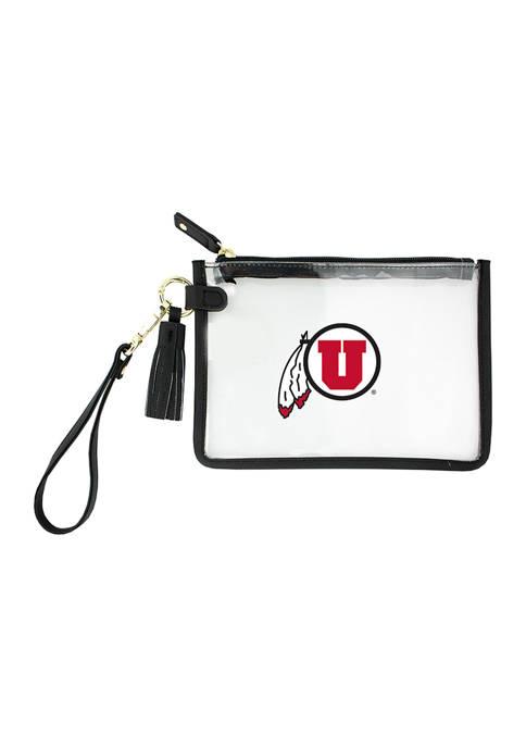 NCAA University of Utah Wristlet