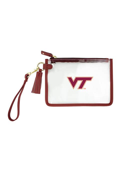 Capri Designs NCAA Virginia Tech Wristlet