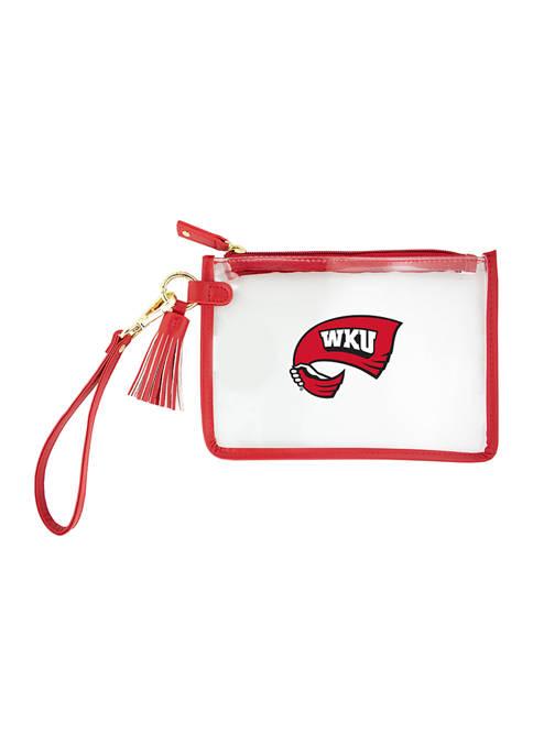 Capri Designs NCAA Western Kentucky Wristlet
