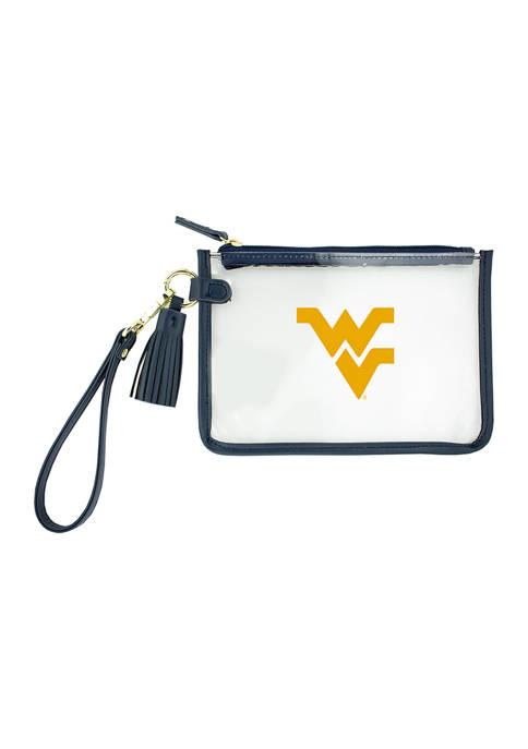 Capri Designs NCAA West Virginia University Wristlet