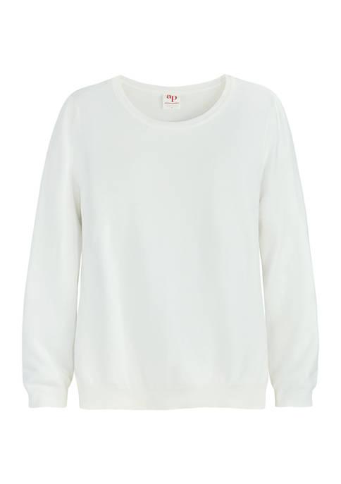 Adyson Parker Womens Round Neck Sweater