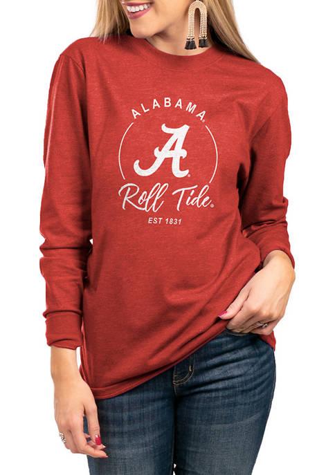 NCAA Alabama Crimson Tide For The Home Team Long Sleeve Top