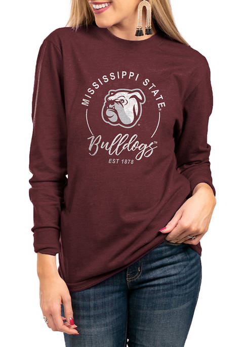 NCAA Mississippi State Bulldogs For The Home Team Long Sleeve Top