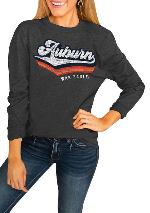 NCAA Auburn Tigers Vivacious Varsity Long Sleeve Top
