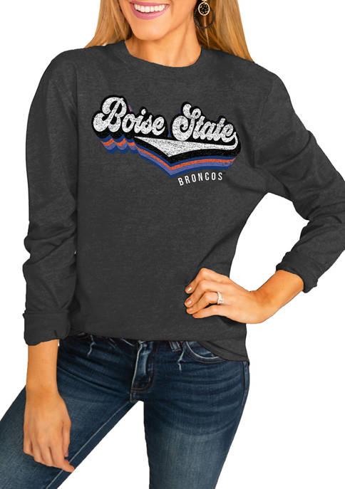 NCAA Boise State Broncos Vivacious Varsity Long Sleeve Top