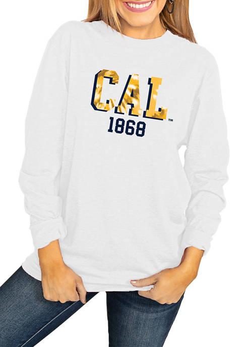NCAA California Golden Bears No Time to Tie Dye Long Sleeve Top