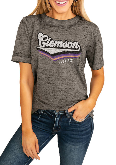 Gameday Couture NCAA Clemson Tigers Vivacious Varsity Boyfriend