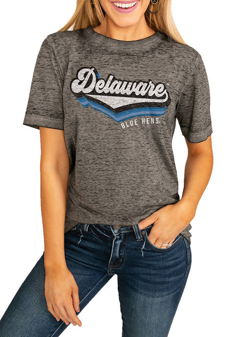 NCAA Delaware Blue Hens Vivacious Varsity Boyfriend Top