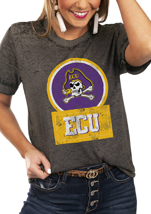 Gameday Couture NCAA East Carolina Pirates Let The