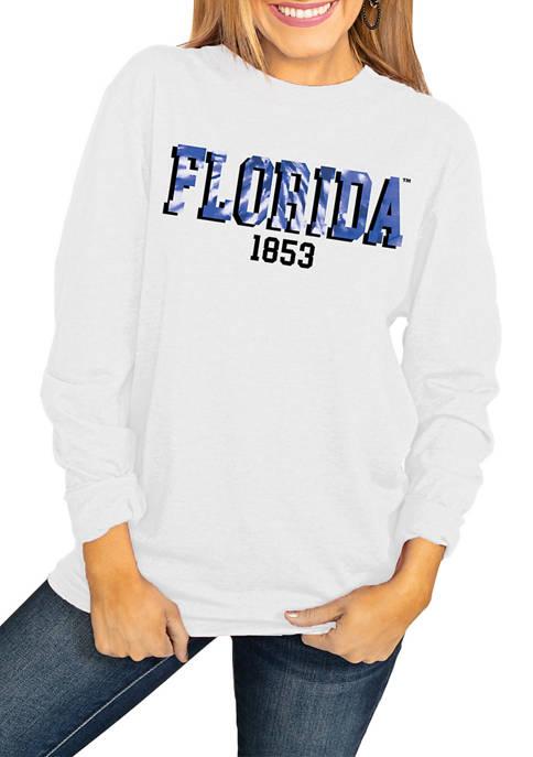 NCAA Florida Gators No Time to Tie Dye Long Sleeve Top