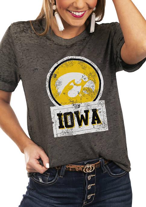 NCAA Iowa Hawkeyes Let The Good Vibes Roll Boyfriend Top
