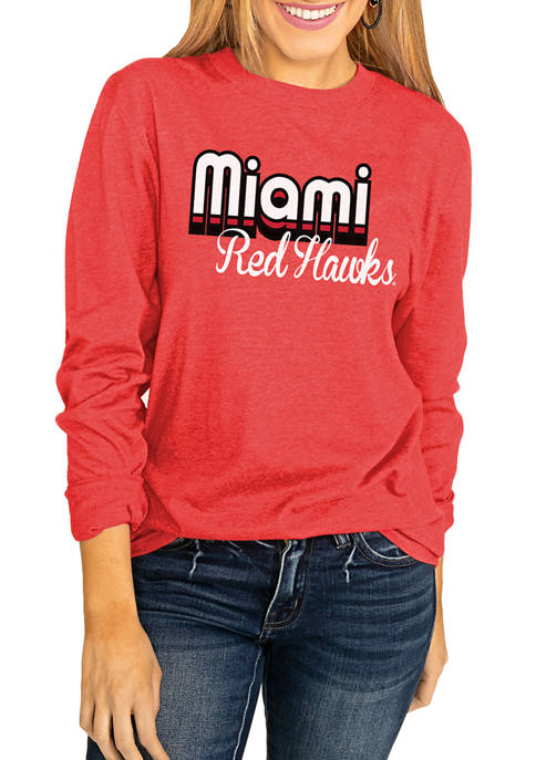 Gameday Couture NCAA Miami of Ohio Redhawks Throwback