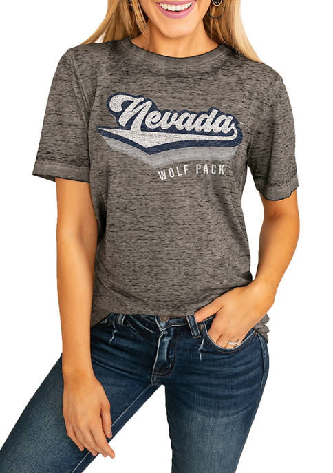 NCAA Nevada Wolf Pack Vivacious Varsity Boyfriend Top