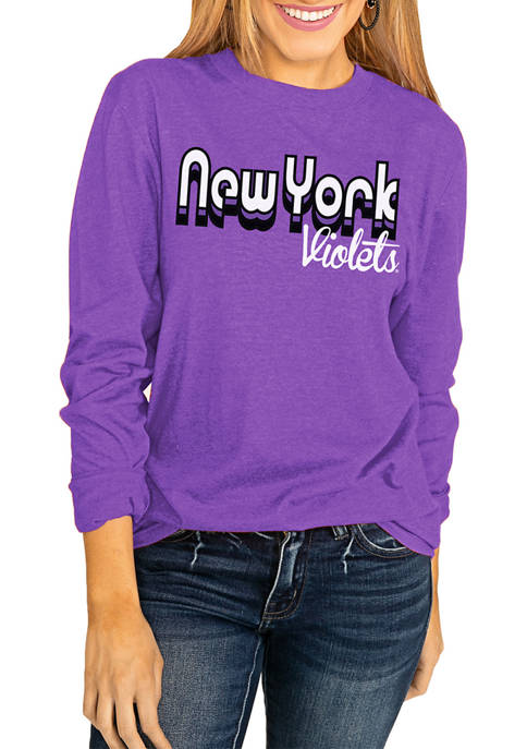 Gameday Couture NCAA New York University Violets Throwback