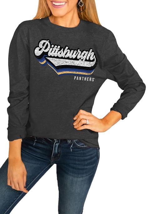 NCAA Pittsburgh Panthers Vivacious Varsity Long Sleeved Top