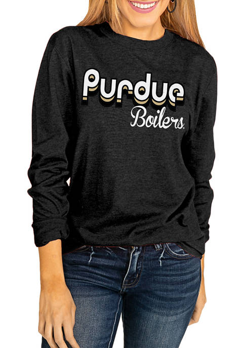 Gameday Couture NCAA Purdue Boilermakers Throwback Varsity Vibes