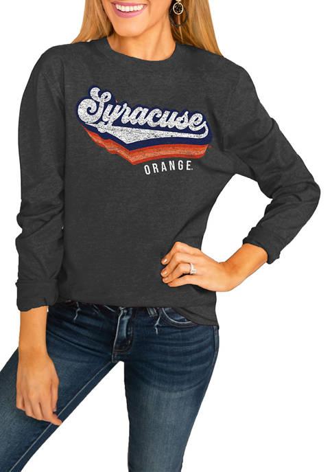 NCAA Syracuse Orange Vivacious Varsity Long Sleeved Top