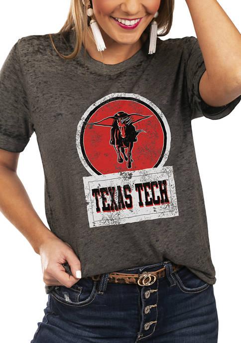 NCAA Texas Tech Red Raiders Let The Good Vibes Roll Boyfriend Top