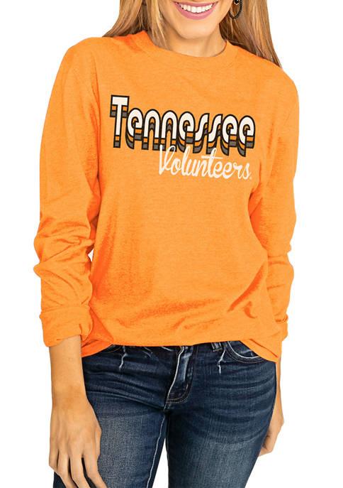 NCAA Tennessee Volunteers Throwback Varsity Vibes Long Sleeve Top