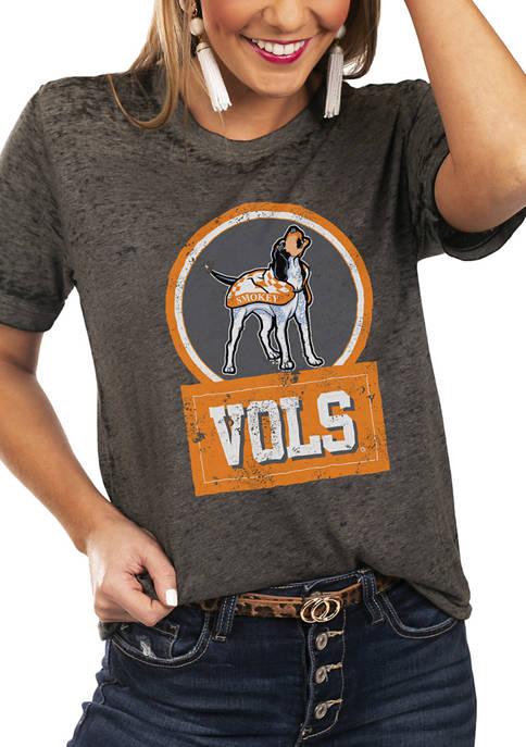 NCAA Tennessee Volunteers Let The Good Vibes Roll Boyfriend Top