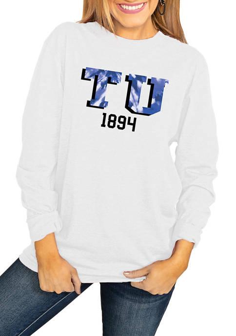 NCAA Tulsa Golden Hurricane No Time to Tie Dye Long Sleeve Top