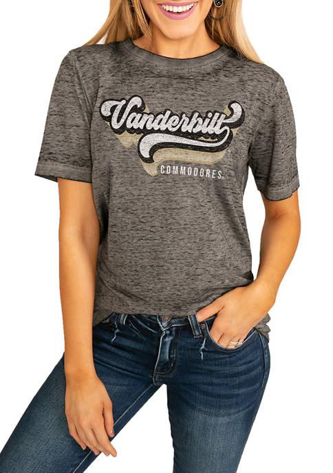 NCAA Vanderbilt Commodors Vivacious Varsity Boyfriend Top