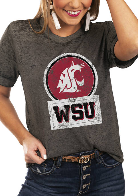 NCAA Washington State Cougars Let The Good Vibes Roll Boyfriend Top