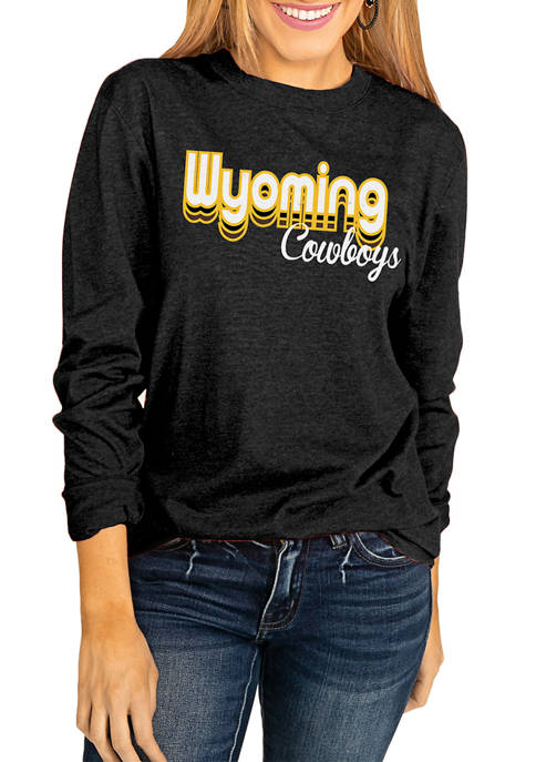 Gameday Couture NCAA Wyoming Cowboys Throwback Varsity Vibes