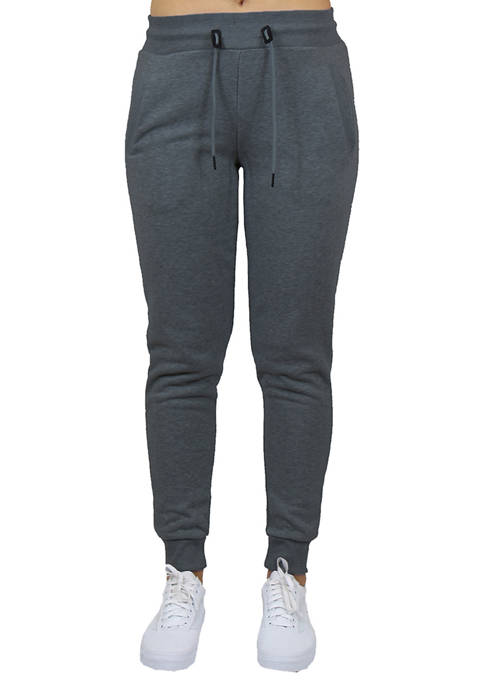 Womens French Terry Loose Fit Jogger Lounge Pants