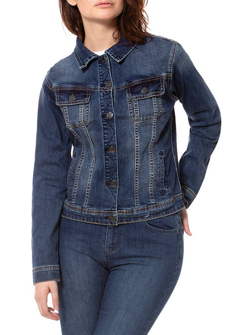 Lola Jeans Plus Size The classic denim jacket