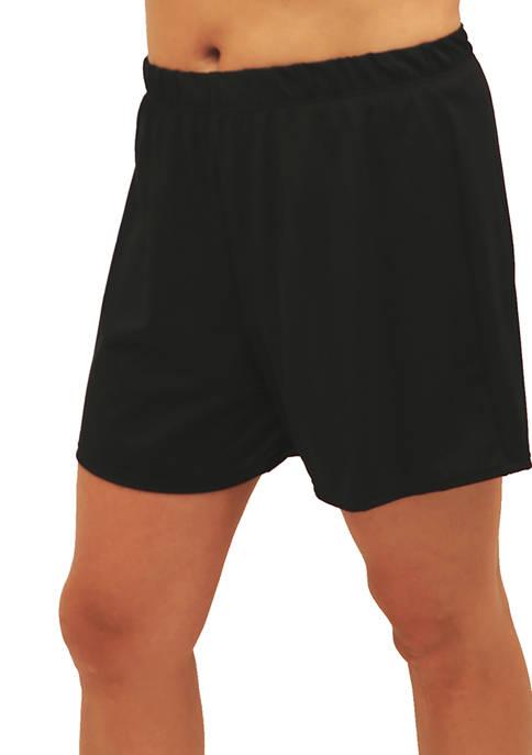 Plus Size Fit 4 Ur Thighs Swim Short