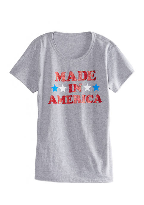 Womens Made in America T-Shirt