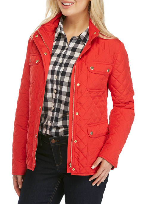 Crown & Ivy™ Womens Barn Jacket